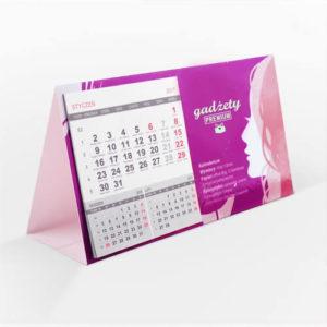 Kalendarz biurkowy klejony kalendarium 3 m-c