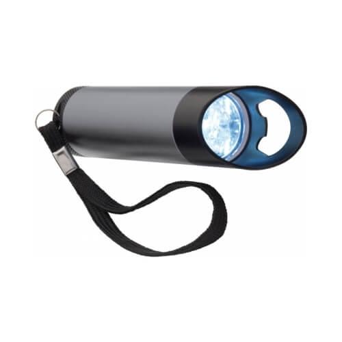 Metalowa latarka