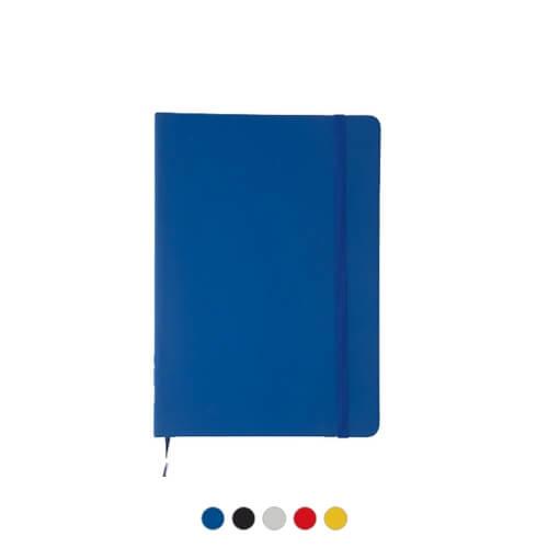 Notatnik z elastyczną opaską