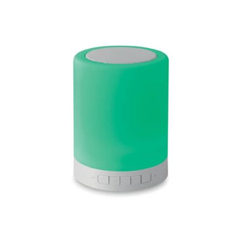 Głośnik z dotykowym światłem