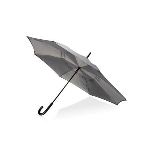 Odwracalny parasol z nadrukiem logo