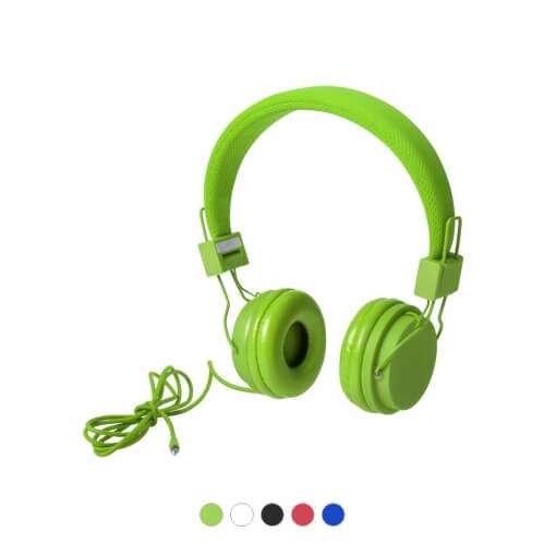 Słuchawki z nadrukiem firmowym