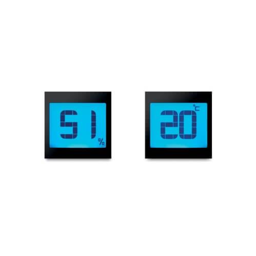 Stacja pogody z logo