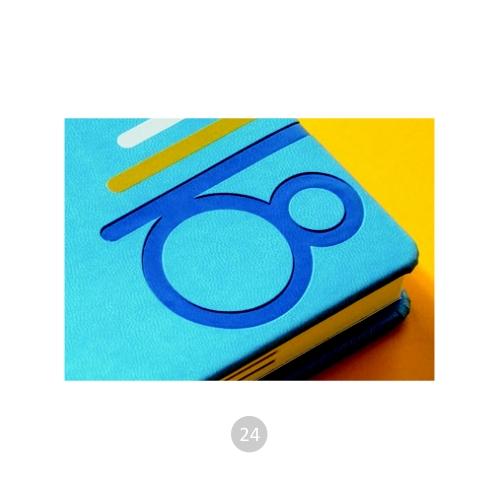 kalendarze książkowe z logo firmy 7
