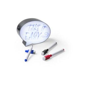 Podświetlana tablica do pisania z nadrukiem