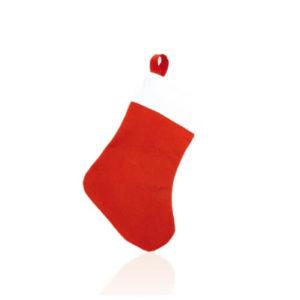 Skarpeta świąteczna z nadrukiem