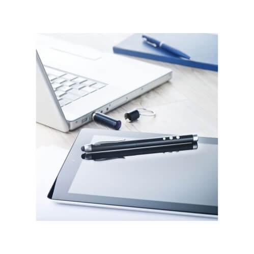 Wskaźnik laserowy z brelokiem i długopisem