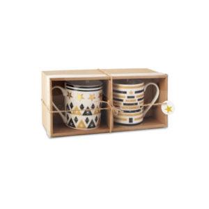 Zestaw 2 ceramicznych kubków