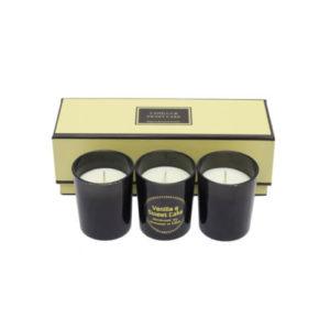 Zestaw 3 świec zapachowych