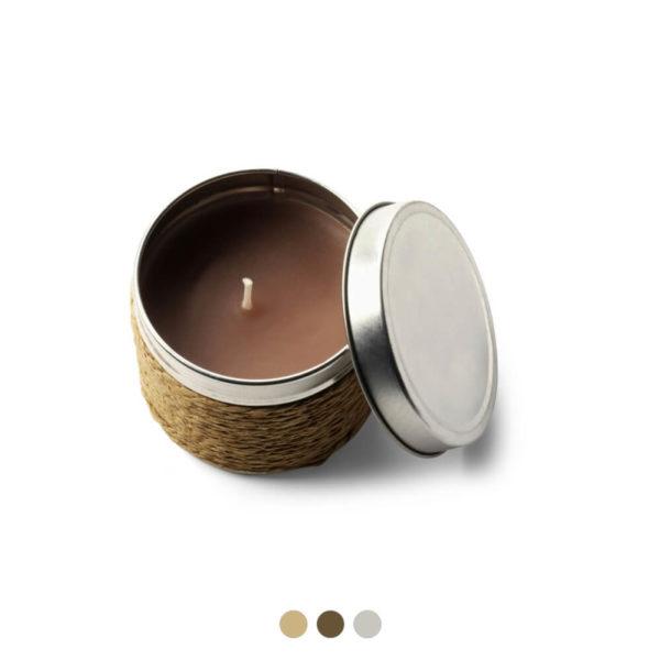 Świeczka zapachowa z logo firmy