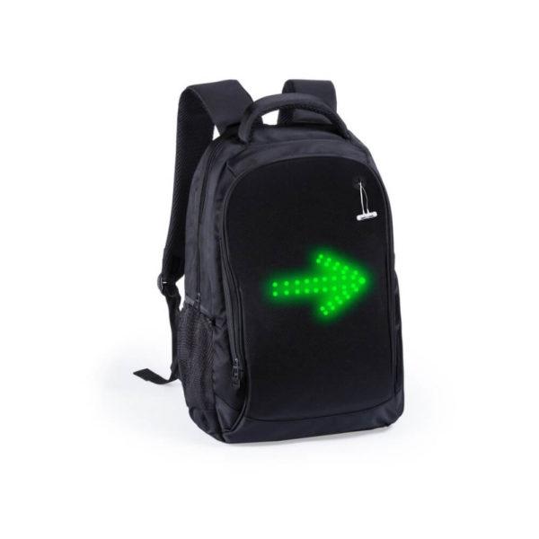 Plecak z kierunkowskazami