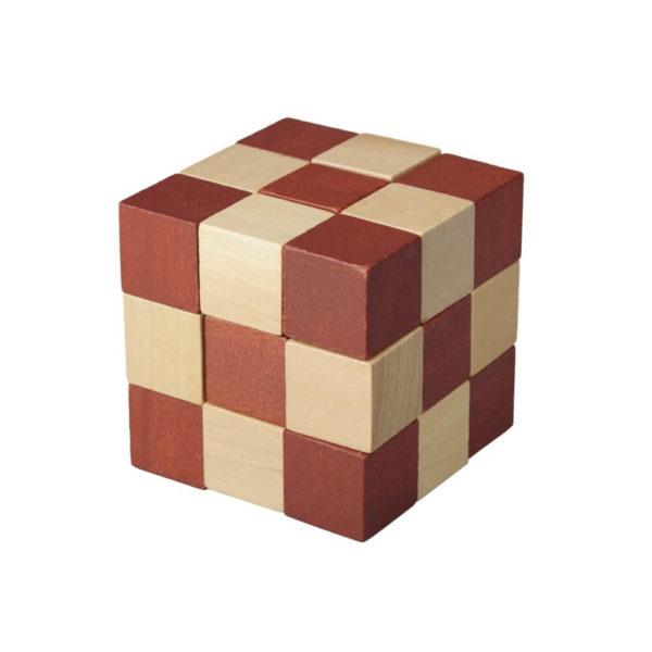 Układanka drewniana z nadrukiem logo