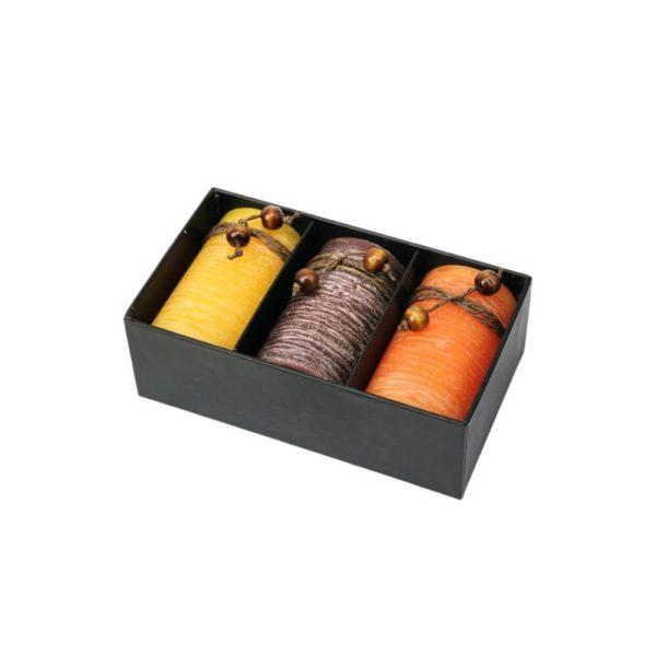 Świąteczny zestaw świec zapachowych
