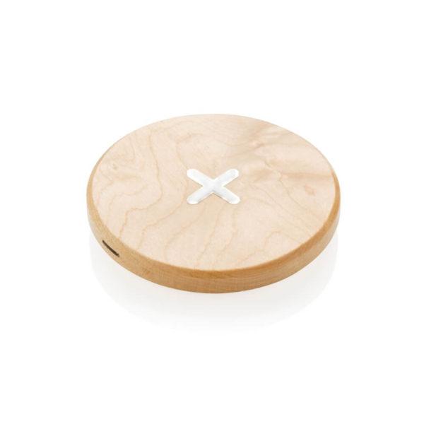 Drewniana ładowarka bezprzewodowa