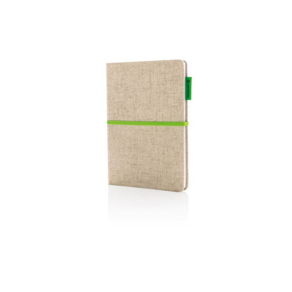 Ekologiczny notatnik A5 z logo
