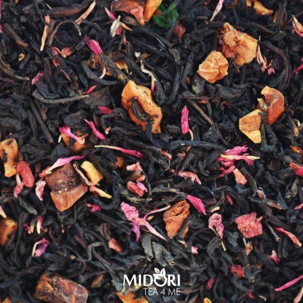 midori tea 4 me - Czarna herbata o smaku malinowo-muffinowym