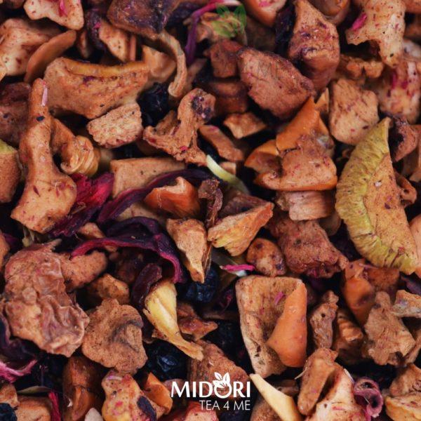 midori tea 4 me - Mieszanka owocowa z rabarbarem
