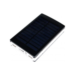 Power bank solarny z logo