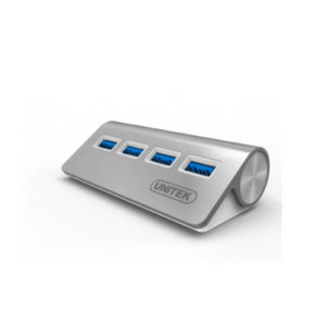 Aluminiowy Hub USB