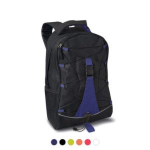 plecak z kolorową wstawką