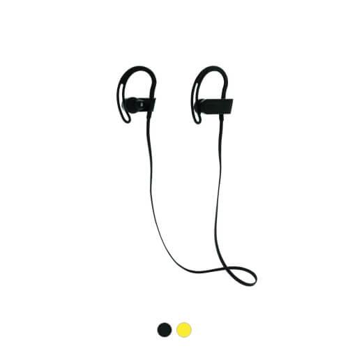 słuchawki z logo