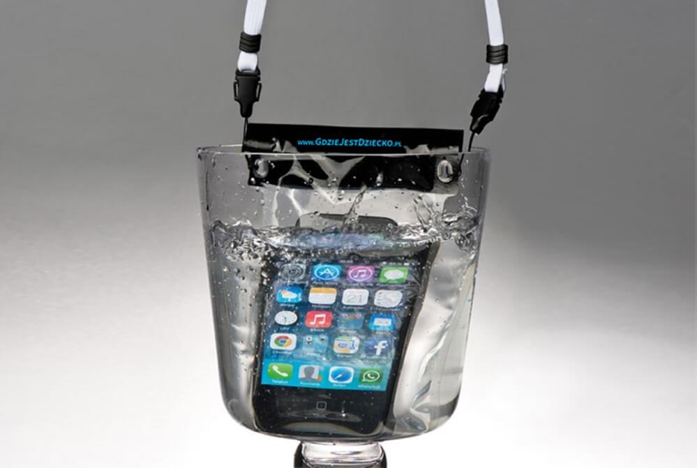 Pokrowce wodoodporne na telefon z logo