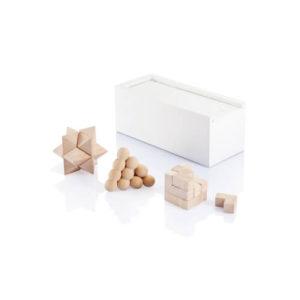 puzzle drewniane z logo