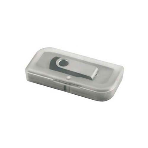 Plastikowe pudełko na pendriva