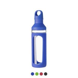 Szklana butelka z nadrukiem