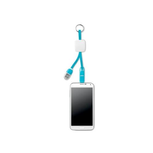 Brelok z kablem USB