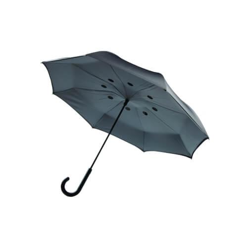 Odwracalne parasole z logo firmy
