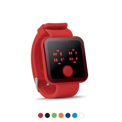 Zegarek LED z nadrukiem