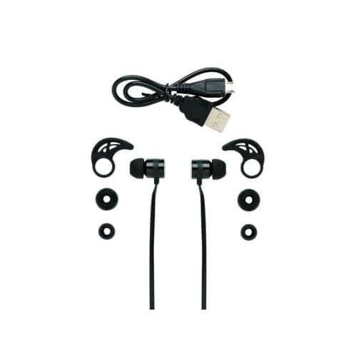 Bezprzewodowe słuchawki douszne z nadrukiem