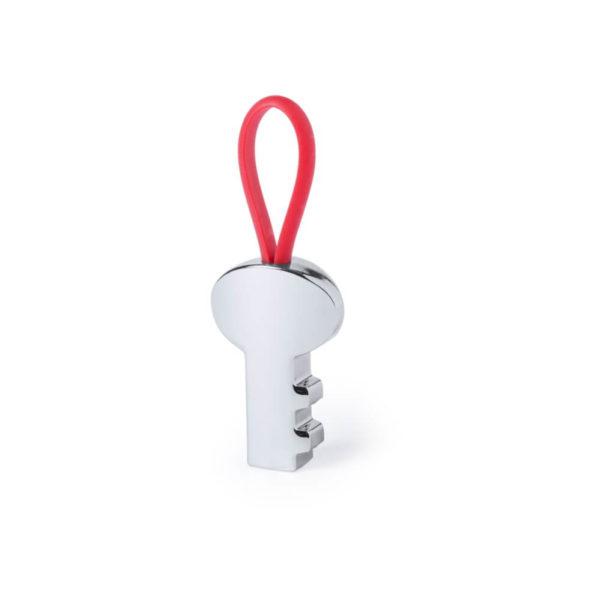 Brelok kluczyk z nadrukiem firmowym