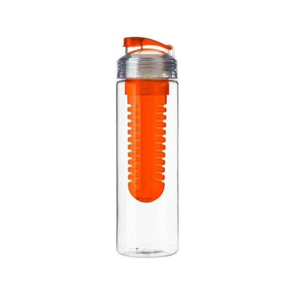 Butelka z pojemnikiem na owoce z logo firmy