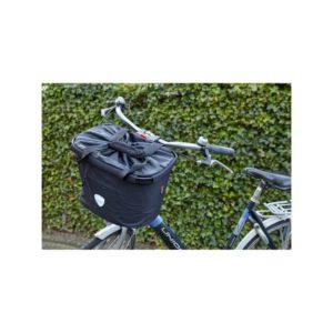 Koszyk rowerowy z nadrukiem logo