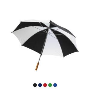 Parasol z nadrukiem firmowym
