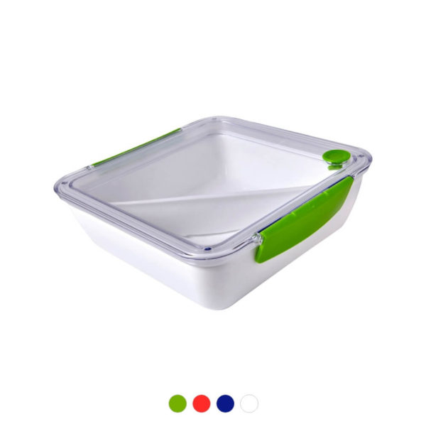 Pudełko śniadaniowe z nadrukiem logo
