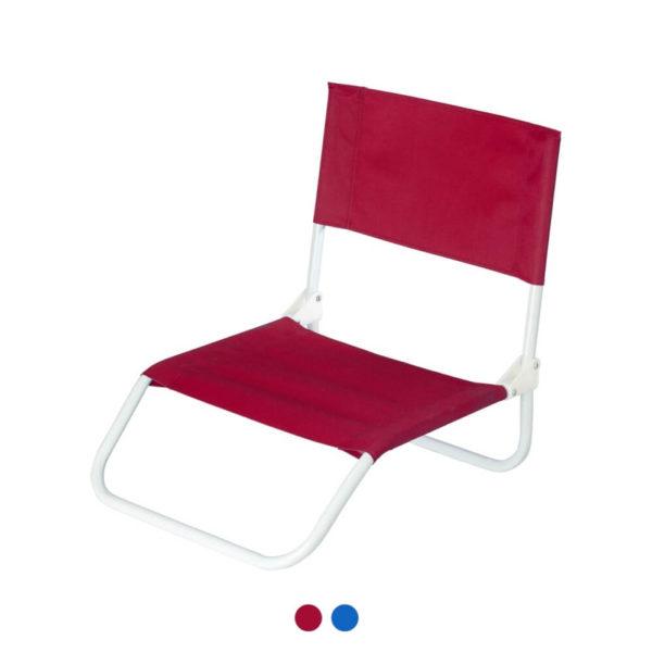 Składane krzesło z nadrukiem firmowym