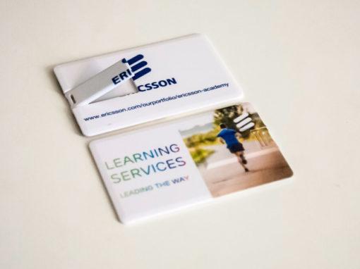 Pendrive karta z logo firmy