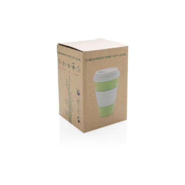 Ekologiczny kubek z bambusa 430 ml