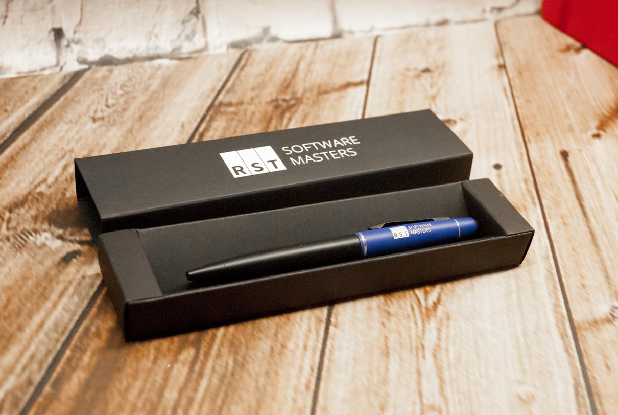 Długopisy metalowe z grawerem logo