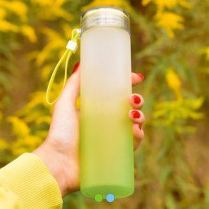 Butelka szklana z logo firmy