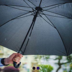 Elegancki parasol z logo firmowym